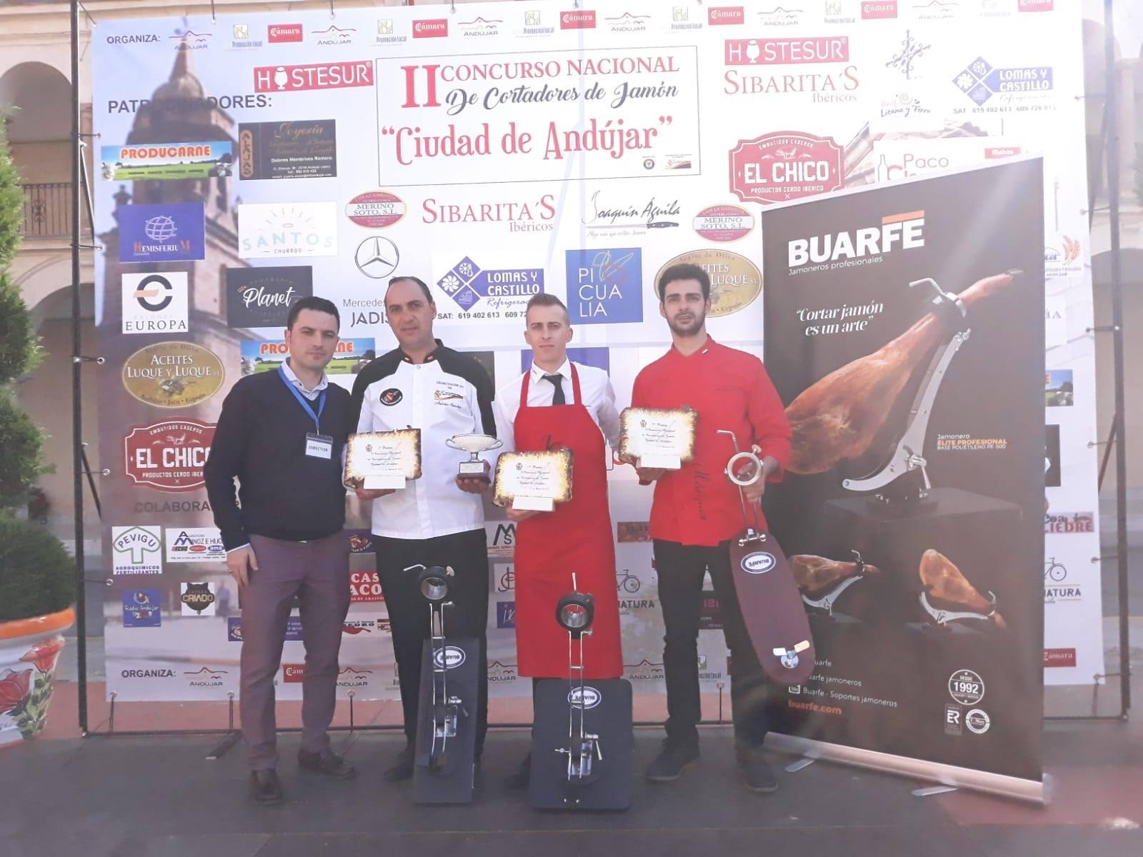 Segundo puesto en el concurso de El Real de la Jara (Sevilla) y tercero en Andújar (Jaen)